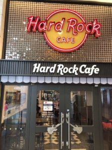 ハードロックカフェ上野店へ行ってきました
