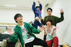 大阪の大注目バンド ナードマグネット@千葉Look