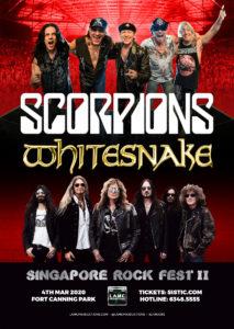 ヘヴィメタルフェス シンガポールロックフェスト2020開催決定!! 気になるラインナップは??