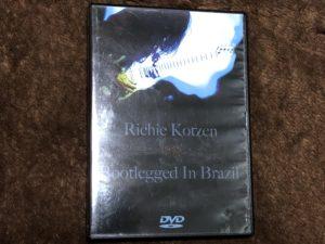 Richie Kotzen bootlegged in Brazil (Bootleg DVD)
