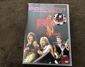 Bonjovi super rock 84 in Japan (Bootleg DVD)