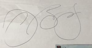ジョンボンジョヴィ本人からサインを貰えた時のお話