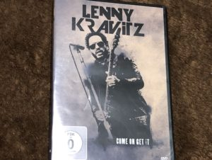 Lenny kravirz come on get it (Bootleg DVD)