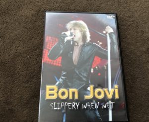 Bonjovi slippery when wet (Bootleg DVD)