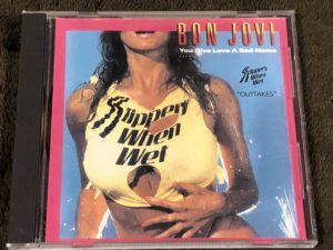 Bonjovi slippery when wet outtakes(Bootleg CD)